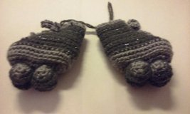 crochet roller skate grey 1 in Elgin, Illinois