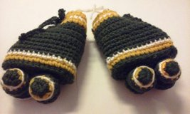 crochet roller skate yellow green in Elgin, Illinois