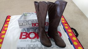 Women's Bailey brown knee-high boots in Schofield Barracks, Hawaii