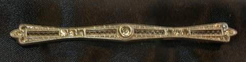 Antique Sterling Silver Bar Pin in Schaumburg, Illinois