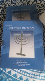 Electric Menorah in Fort Campbell, Kentucky