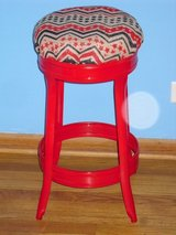 "cute metal stool 24.5""H in St. Charles, Illinois"