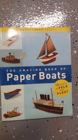 The amazing book of paper boats in Chicago, Illinois
