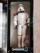 "VINTAGE Star Wars Collector Series ""SAND TROOPER"" 12"" Figure 1997 Kenner NEW in Tinley Park, Illinois"