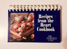 "1997 Pampered Chef ""Recipes From the Heart Cookbook"" NEW - $3 in Tinley Park, Illinois"