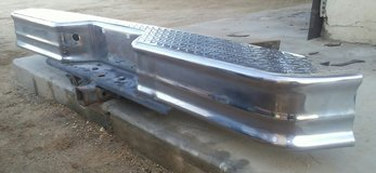 Bumper-Step, Chrome Diamond Plate w/receiver in Yucca Valley, California