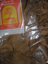 Extra Wide Ruffled Priscilla DuPont Dacron Polyester Curtains Brown, Melon, Gold, or Green in Wilmington, North Carolina