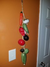 Large / Ceramic Vegetable Wall Hanging in Clarksville, Tennessee