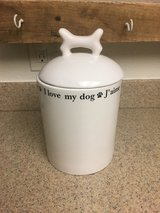 Ceramic Pet Treat Container in 29 Palms, California