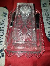 Lenox Crystal Butter Dish in Clarksville, Tennessee