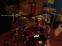 DW 5 Piece Drum Set in Fairfield, California