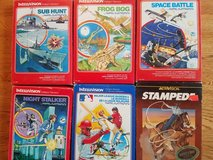 INTELLIVISION GAMES - 31 in all!  REDUCED! in Plainfield, Illinois