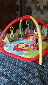 Play gym,matt,with music toys ,light ,vibration,pillow in Ramstein, Germany