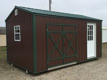 New 10'x16' Garden Shed in Fort Leonard Wood, Missouri
