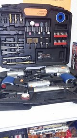 Excell air Tools in case with lots of attachments in Yucca Valley, California