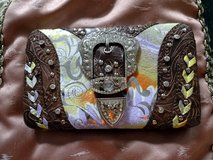 Western Style Multi-Color & Brown Wallet Buckle NEW w/o Tags NICE!! in Ruidoso, New Mexico