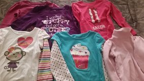 6 ....4T - Toddler girl long sleeve shirts in Yucca Valley, California