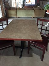 Rectangular table and 2chairs in Aurora, Illinois