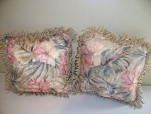 Flowered Bed Pillows in Cherry Point, North Carolina