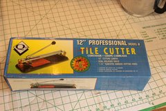 "12"" Professional Tile cutter by Qep. New never used, still in box. in Yucca Valley, California"