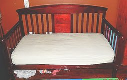 Toddler bed w/ mattress in Schaumburg, Illinois