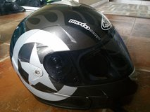 KBC Moto Design Helmet with dark shield in Camp Pendleton, California
