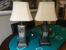 Lamps, matching pair, perfect condition. in Lockport, Illinois