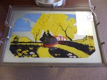 Old serving tray in Cherry Point, North Carolina