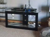 Glass Shelf TV Stand in Yucca Valley, California