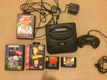 Sega-Genesis-Model-2-Black-Console-Controler and Games-MK-1631 in Joliet, Illinois