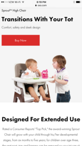 Oxo  sprout high chair in Kingwood, Texas
