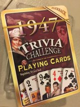 new 1947 trivia cards in Aurora, Illinois