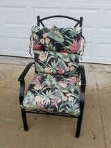 Black / Iron / Floral Patio Chair in Fort Campbell, Kentucky
