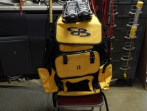 boombah oversized baseball bag, nike shoes in Naperville, Illinois
