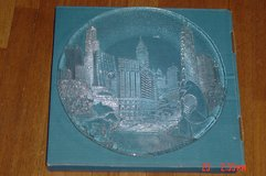 Marshall Fields Chicago Skyline Party Platter by Pilgrim Glass in Orland Park, Illinois