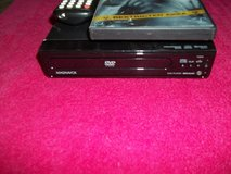 MAGNAVOX REMOTE DVD PLAYER & 2 dvd's in Fort Knox, Kentucky