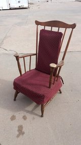 Antique rocker in Fort Riley, Kansas