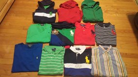 lot of 38pc. ralph lauren boy clothes-size 14/16 in Wilmington, North Carolina