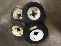 4 Lug Trailor tires in St. Charles, Illinois