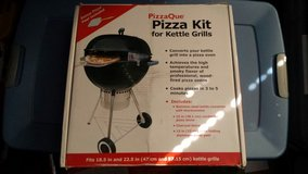 Pizzaque pizza kit for kettle grills in Naperville, Illinois