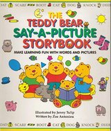The Teddy Bear Say-A-Picture Storybook: Make Learning Fun With Words and Pictures in Plainfield, Illinois