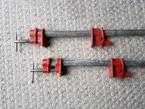 Woodworking Pipe Clamps in Naperville, Illinois