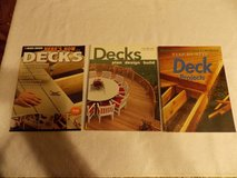 Deck Books Lot of 3 in Hopkinsville, Kentucky