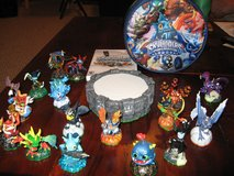 Skylanders for Wii - Portal, 16 Figures and Carrying Case in Westmont, Illinois
