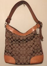REDUCED~ Authentic Coach Purse w/keychain in Spring, Texas