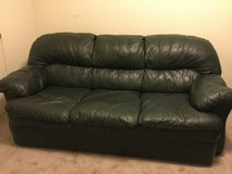LEATHER COUCH & LOVESEAT in Travis AFB, California