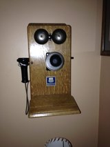 antique phone in DeKalb, Illinois