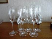 6 Champagne Glasses, Waterford Robert Mondavi, like new, 12 available in Stuttgart, GE