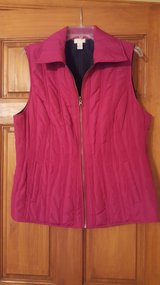 Pink Vest from Chico's Size 2 in Aurora, Illinois