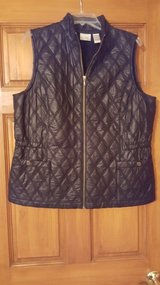 Black Vest from Chico's Size 2 in Aurora, Illinois